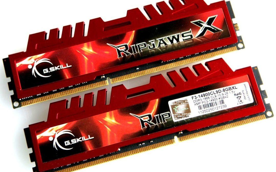 Todo lo que debes de saber sobre la memoria RAM